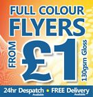 Gloss Flyers / Leaflets Printed - 24hrs to Despatch ~ FROM £1.00