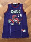 Vince Carter #15 Toronto Raptors Swingman Basketball Jersey Men's Purple