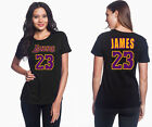 LeBron-James -Los Angeles Lakers #23 NBA Women's Graphic-T Shirt