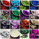 6mm Round Loose Sequins Paillettes DIY Sewing Decor for Clothing Bag Shoes Craft