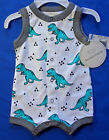 Внешний вид - Koala Baby Romper dinsosaurs one piece short set newborn & 3 months NEW with tag