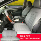 PU Leather Suede Full Car Seat Cushion Covers Compatible to Scion 803551 Bk $74.95 USD on eBay