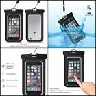 Universal Waterproof Case Dry Bag Pouch for Smartphones iPhone Samsung Fits 6.0""