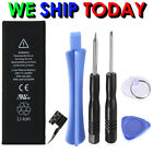 Replacement Li-ion Battery 1560mAh  w/ Flex Cable For iPhone 5S 5C + Tools