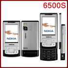 6500S Original Nokia 6500 slide 3G 850 2100 Long Stand-by Slider Mobilephone