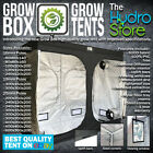 NEW !!! GROW BOX GROW TENTS ALL SIZES 16ML 19ML AND 25ML POLES HYDROPONIC TENT