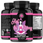 Angry Supplements Hot & Skinny Thermogenic Womens Weight Loss Diet Pills NON-GMO on eBay
