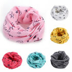 Внешний вид - Unisex Neck Scarf Baby Kids Child Toddlers Cotton Star Warmer Circle Shawl Wraps