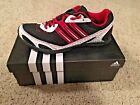 ADIDAS Mens Black Red Track Running G00512 Athletic Sneakers Shoes Cleats XCS W