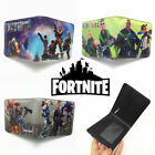 UK Game Fortnite Wallet Men's Short Bifold Purse Coin Bag Handbag Boys Gifts NEW