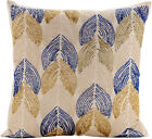 Ivory Decorative Pillow Covers, Silk fabric 16x16 Inch -Burj Al Arab