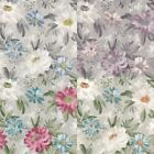 Arthouse Painted Dahlia Flower Pattern English Garden Traditional  Wallpaper