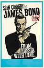 From Russia With Love 4 Movie Poster Canvas Picture Art Print Premium  A0 - A4 £27.49 GBP on eBay