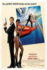 A View to a Kill 2 Movie Poster Canvas Picture Art Print Premium Quality A0 - A4 £2.49 GBP on eBay