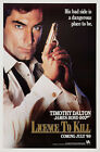 Licence to Kill 3 Movie Poster Canvas Picture Art Print Premium Quality A0 - A4 £15.66 GBP on eBay