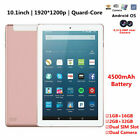 """10.1"""" 2 32GB Android Touch Tablet PC 4-Core 3G WIFI Bluetooth Dual SIM  Camera"""