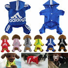 Warm Pet Dog Clothes Four-Legs Hoodie Small Sweaters Coats Sports Atheletic