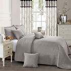 3 Piece Quilted Bedspread Embossed Comforter Bedding Sets With Pillow shams <br/> SINGLE DOUBLE KING SUPER KING / FREE UK MAINLAND POST