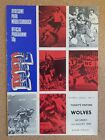 PROGRAMME Middlesbrough Football Club Home Game Programmes 1975 1976 - Various