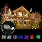 Waterproof 10M 100 LED Xmas Christmas Tree Fairy String Party Lights Balls Lamp