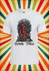 Game Over Dead Pool Game Of Thrones Men Women Vest Tank Top Unisex T Shirt 1913