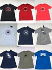 Men's CONVERSE  S-3XL All Star Chuck Taylor Crew Neck Graphic Athletic Fit Tee