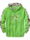 Legendary Whitetails Men's Big Game Snow Camo Outfitter Hoodie