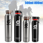 Vacuum Insulated Stainless Steel Water Bottle Thermos Drink Cup Flask 500/800ml