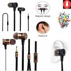 Metal Bass Sports In-Ear Earphones Stereo Headphones Headsets With Mic