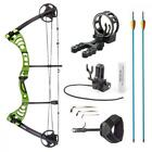 Compound Bow Right Hand Archery Hunting Equipment 296fps Max Speed 100 Grain Tip