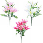 Beautiful Artificial Flower Lily Bunch