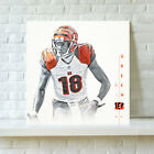 HD Print Cincinnati Bengals Aj Green Oil Painting Art on Canvas Unframed $8.0 USD on eBay