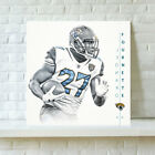 HD Print Jacksonville Jaguars Leonard Fourne Oil Painting Art on Canvas Unframed $6.0 USD on eBay