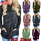 Women Loose Long Sleeve Sweater Casual Blouse T-Shirt Tunic Tops Fashion Blouse
