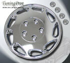 "Style 807 15 Inches Chrome Hub Caps Hubcap Wheel Rim Skin Covers 15"" Inch 4pcs"