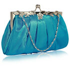 Ladies Designer Purses With Chain Women's Crystal Prom Party Evening Clutch New