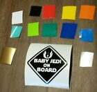 BABY ON BOARD DECAL ANY COLOR SAFETY STICKER NEWBORN STAR WARS JEDI FUNNY $5.99 CAD on eBay