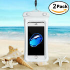 2X Floating Waterproof Bag Underwater Pouch Dry Case Cover For iPhone Samsung MI