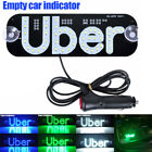 For Uber Car Taxi Led Light Cab Indicator Lamp Logo Windshield Panel Sign Lights
