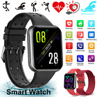 Smart Watch Band Strap For Bracelet Wristband Fitness Sports Watch Tracker Black