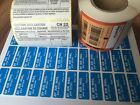 Self Adhesive Postal Labels CN22, Air Mail and Signed For - Various Quantities