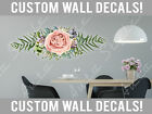 Внешний вид - Floral Vinyl Bed Room Living Wall Boho French Flowers Decals Stickers Kids Decor