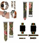 Apple Watch LV Gucci Grid Pattern Leather Replacement Band Strap 38mm 42mm USA image