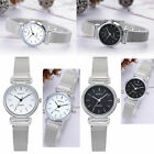 Women Quartz Analog Wrist Small Dial Delicate Watch Stainless Steel Watches Gift image