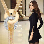 Ee_ Eg_ Women Tassels Sweater Long Chain Charming Necklace Fashion Jewelry Stunn