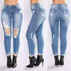 womens slim stretch fit ripped skinny high