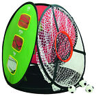 Longridge 4-In-1 Pop Up Chipping Net Golf Practice Training Aid Accuracy Target