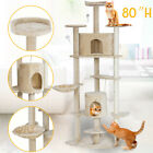 52&quot; 80&quot; 67&quot; Cat Climb Tree Tower Condo Play House Pet Scratch Post Kitten 9 type <br/> the fullest varieties✔Rise in price coming soon✔