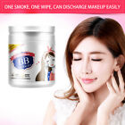 100pcs Makeup Remover Cleansing Cleaner Wet Wipes Lip Clean Cotton Pads hr56