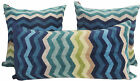MISSONI HOME PILLOW COVER CHEVRON COLLECTION TERRY COTTON PE